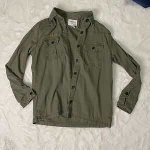 """Forever 21 """"army"""" jacket"""